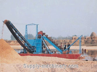 Bucket Chain Sand Dredger