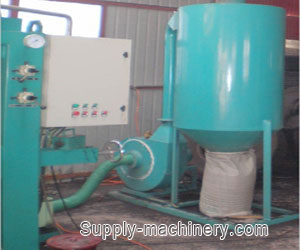 Rubber Powder Collecting Tank