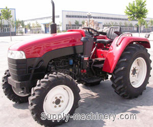 52 HP Tractor 2WD