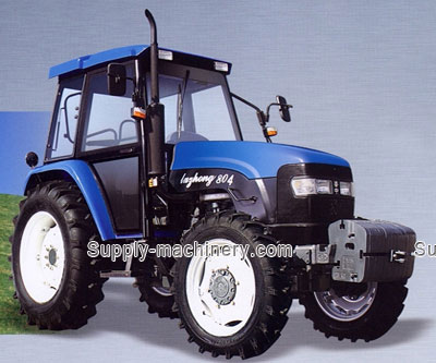 80 HP Tractor 4WD