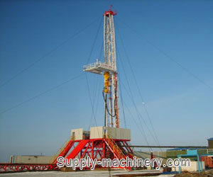 Rotary Water Well drilling Rig