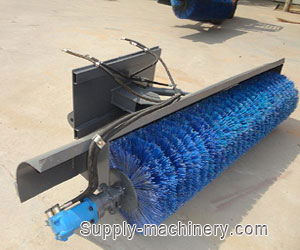 Street Sweeper with Hydraulic Motor